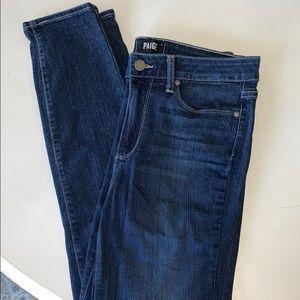EUC Paige Hoxton Ankle Jeans sz 29